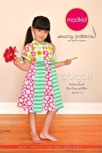 Modkid MOD18 Abigail  A-Lined Dress or Shirt Pattern 2T to 8