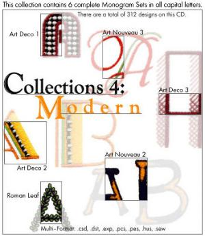 Embroideryarts 01X04 Collections 4 Modern Embroidery CD