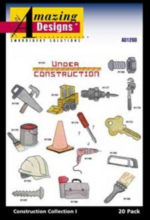 Amazing Designs / Great Notions 1268 Construction I Multi-Formatted CD