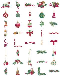 Amazing Designs  ADP-90 Christmas Flourishes Embroidery Designs