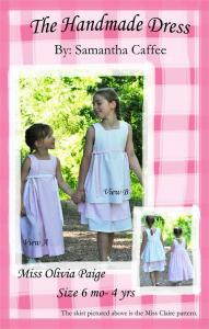 The Handmade Dress THD 111 Miss Olivia Paige Dress Pattern