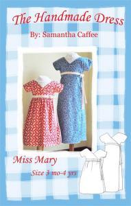 The Handmade Dress THD 109 Miss Mary Dress Pattern
