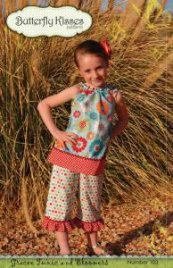 Butterfly Kisses BK103 Gracee Tunic And Bloomers Pattern