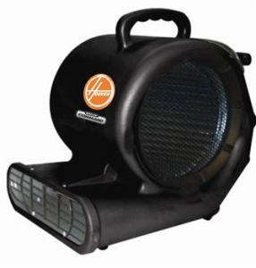 "Hoover CH82000 Ground Command Commercial Air Mover, 1/2 HP Motor, 2200 CFM, 14"" Wide Chassis Opening, 9.5"" Wide Steel Fan Blade and Frame, 20' Cord"