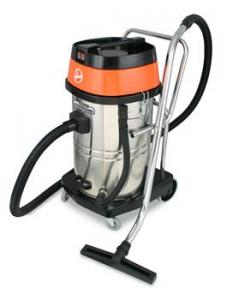 Hoover, CH84005, Ground Command, Commercial, Wet Dry, Vacuum Cleaner, 20 Gallon Dry, 15 gallon Wet, Dual 1.33 HP Motor, 1000 Watt, Cloth Filter, Chromed, Steel Body