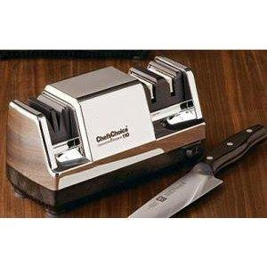 Chefs Choice 110 Diamond Hone Multistage Knife Sharpener Chrome Finish