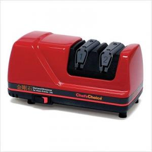 Chefs Choice 316 Diamond Hone Knife Sharpener for Asian Knives - Red