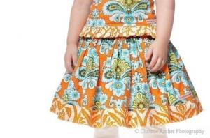 Juvie Moon Aubrielle  Twirl Skirt Pattern