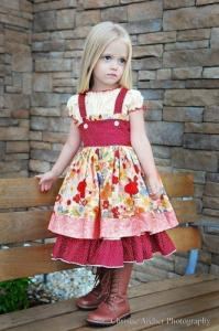 Juvie Moon Diore Full Skirted Twirl Dress Pattern