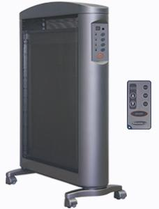Soleus Air HM2-15R-32 Micathermic Flat Panel Heater with Remote Control
