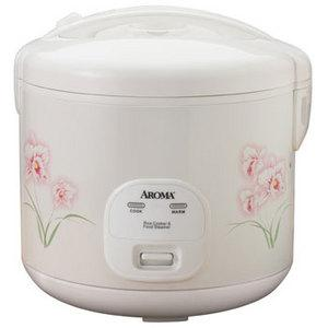 Aroma ARC-1266F 4-12 Cup Cool Touch Rice Cooker, 1 touch, auto keep warm, measure cup, steam tray, spatula, include vegetables, meat, soups, stews