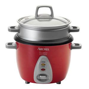 Aroma ARC-733-1NGR 6-Cup Pot Style Rice Cooker