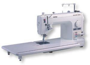 "Brother, PQ1500S, Designio DZ1500F, Babylock Jane, BLQP, 9"" Arm, 7mm Straight Stitch, Sewing, Quilting, Machine, Pin Feed, Needle Up Down, Threader, Trimmers, Knee Lift, Drop Feed, Walk Foot, 11X23"" Table, 25Yr"