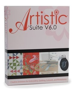 Artistic Suite, V7.0, DRAWings, Digitizing, Wings Cutwork, Crystals Monogram Software, 4 Cutwork Needles, Cut 32 Layers, Applique, Embroidery, Quilt Designs, Video