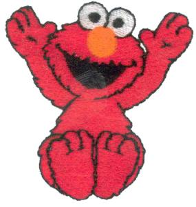 Amazing Designs SS3 Elmo Collection I Embroidery Card