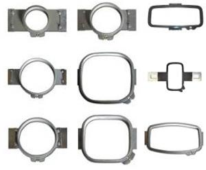 Durkee 9 Embroidery Double Height Hoops Frames Brackets for Janome MB4