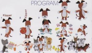 Elna MC115 Kipper Designs Envision Embroidery Card SEW Format
