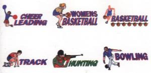 Amazing Designs PFMC 103 Sports Collection 1 Pfaff Embroidery Card