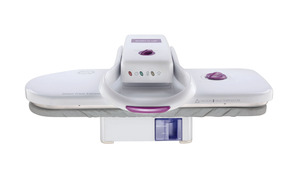"Sienna SSP-1990 22x9"" Expresso Steam Ironing Board Press 1350W, Variable Temperature, Non Stick Surface, Power Light On Off, Auto Off, FREE Video DVD"