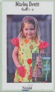 Nanoo Designs Marley Dress Pattern Sizes 1-6