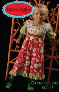 Kati Cupcake KC117 Gracie Lou 6mo-12yrs Patternnohtin