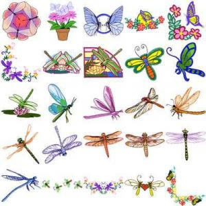 OESD 11356 Insects 3 Embroidery CD Design Pack