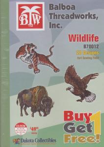 Dakota Collectibles / Balboa Threadworks B70012 Wildlife Multi-Formatted CD Buy 1Get 1 Free