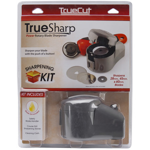 -TRUE SHARP SHARPENER, Grace GTSPRS TrueSharp Electric Rotary Knife Blade Sharpener 28 45 60mm