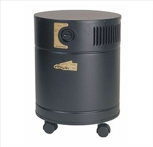 AllerAir 5000 Exec Air Purifier,  3 Speed, 400 CFM, 50-75db, 8ft Cord, 18lb Carbon Filter, Medical-Grade HEPA