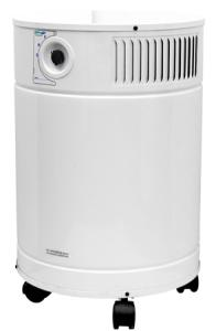 "AllerAir 6000 Vocarb Medical Grade HEPA Air Purifier Cleaner 10YrExtWnty*Metal Housing, 4x2""Wheels 3Speed 400CFM 50-75dB 8'Cord 24LbCarbonFilter, 53Lb"