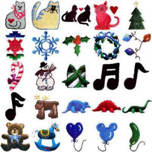 OESD 10006 Mini B Embroidery CD Design Pack
