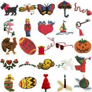 OESD 11035 Mini Pack C Embroidery CD Design Pack
