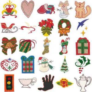 OESD 11036 Mini Pack D Embroidery CD Design Pack