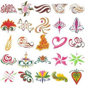 OESD 11037 Mini Pack E Embroidery CD Design Pack