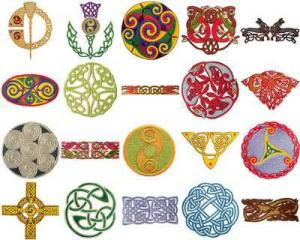 OESD Embroidery CD Design Pack 11078 Celtic Knots 2