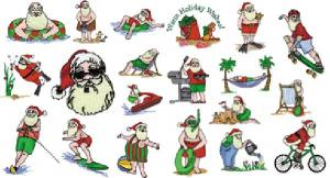 Great Notions 1276 Warm Weather Santa's Collection I Multi-Formatted CD