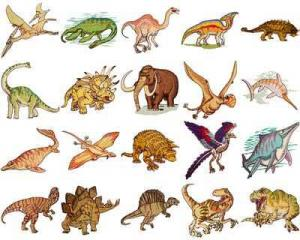 OESD 11114 Dinosaurs Embroidery CD Design Pack