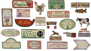 Amazing Designs 1278 Great Notions 28 Country Signs Collection I Multi-Formatted Embroidery CD