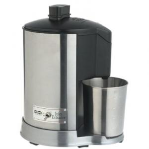 Waring JEX328 Professional Juice Extractor - 400 Watt Motor, Brushed Stainless Steel Housing