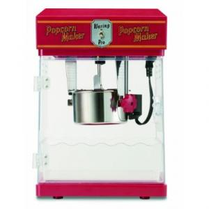 Waring WPM25 Professional Popcorn Maker - Red, 300W, Old Style, Detachable Kettle for Easy Clean Up, 11x11.5x17