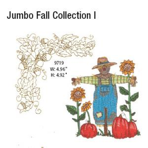 Amazing Designs / Great Notions 5021 Jumbo Fall 1 Multi-Formatted CD