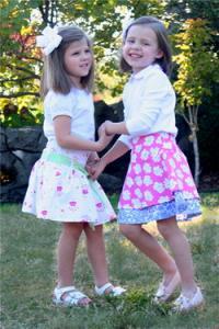 Childrens Corner CC269 Sassy Skirts sz 3-5