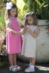 Childrens Corner CC270 Sophie Jumper or Sundress Designed by Susan Whitman Pattern