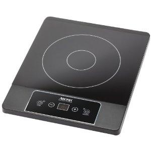 Aroma AID-506 Gourmet Series Induction Cook Top, heats quicker than traditional gas electric stovetops, 6 temperature levels, timer up to 180 minutes