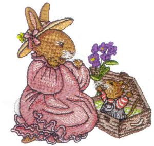 Amazing Designs BMCL-HP1 Holly Pond Hill Collection 1 Embroidery Card