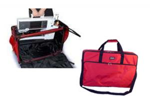 "Tutto 9228MA-2XL 28"" Embroidery Sewing Machine Carrying Case 27x17x14"" On Wheeled Casters, PLUS 6226EM Embroidery Arm Tote Bag 26x10x6"" Inches"