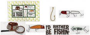 Amazing Designs ES105 Embroideryscapes Fishingscape I Embroidery Disks
