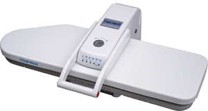 Family FP202XL, Steam & Dry Ironing Press, LARGEST 36x11, Pressing Board, Non Stick, 1600W, 110V, LED Temp, Auto Off, 100Lb Pressure, 36 Lbs, DVD