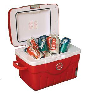 Koolatron KCC14 Coca Cola Fun Cooler, 14 Liter, Up to 20 Cans, 36 �F, 12V or 110V