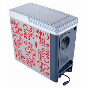 Koolatron CP20 Coca Cola 17 Liter Compact Cooler Warmer, 23x12oz Can Capacity 17Liter 18Quarts, 40 �F, 12V or 120V, for Auto Car, Boat, RV, Truck, SUV